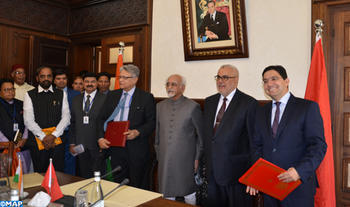 Morocco, India Sign MoU in Diplomatic Field, Cultural Exchange program