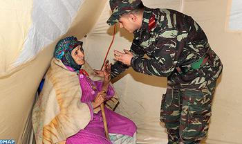 Anfgou Military Field Hospital Starts Providing Healthcare Services to Local Population
