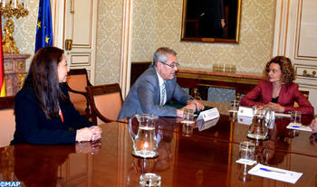 Official Meets With Spanish Minister of Civil Service
