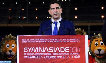 gymnasiade 2018 marrakech