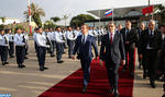 Russian PM Leaves Morocco after Working & Friendship Visit
