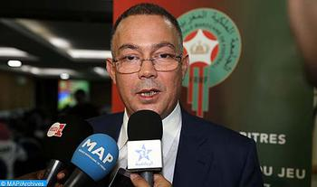 President of Royal Football Federation, Guest of MAP Forum on Tuesday