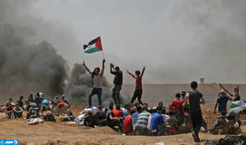 52 Palestinians Killed in Gaza by Israeli Soldiers
