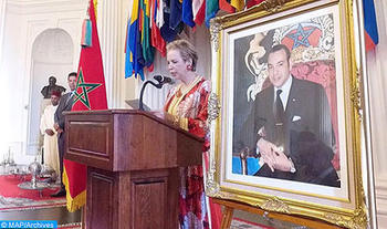 Lalla Joumala Alaoui Highlights Holistic Vision of HM the King for Modern Morocco Proud of its Centuries-old Heritage