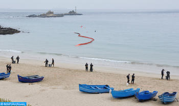 Two Royal Navy Fighting Units Rescue 19 Would-be Illegal Immigrants off Casablanca (Statement)