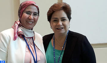 Moroccan Official Holds Talks with UNFCCC Executive Secretary