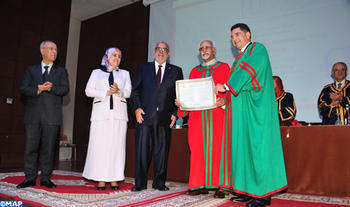 Indian Vice-President Awarded Doctorate Honoris Causa by Rabat Mohammed V University