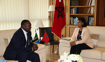 Sec. of State for Foreign Affairs Meets with Delegation from Zanzibar