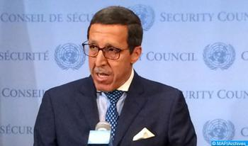Morocco's Ambassador Informs UN Security Council on Situation in Central African Republic