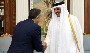 Emir of Qatar Receives Morocco's DG of Police and National Territory Surveillance