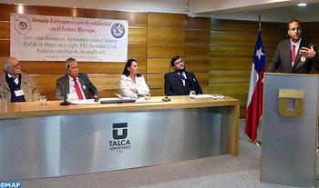 International Academic Seminar on Moroccan Sahara Opens in Chile