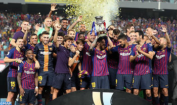 FC Barcelona Win its 13th Spanish Super Cup in Tangier