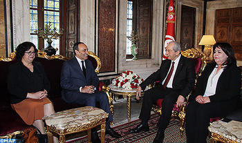 Speaker of Lower House Meets Tunisian Peer Over Maghreb Integration