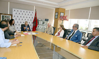 Delegation from Washington 'National Press Club' Meets with CNDH Chairman