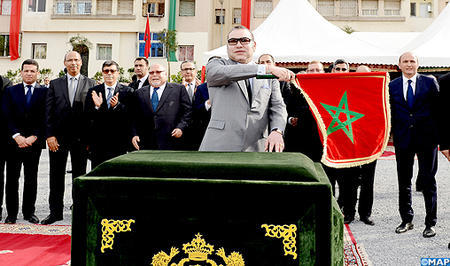 HM the King Launches MAD 8.5 Billion Transport Infrastructure Projects in Casablanca