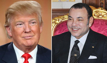 HM the King Holds Phone Conversation with Donald Trump, President-Elect of USA, Royal Office