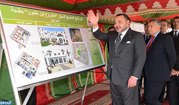 Low-cost housing: HM the King launches in Tangiers Ibn Khaldoun integrated housing project