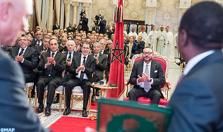 HM the King Chairs Signing Ceremony of Agreements on Nigeria-Morocco Gazoduc Project, Fertilizer Cooperation