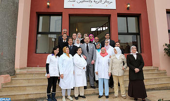 HM the King inaugurates women education and training center in Marrakech