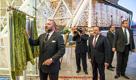 HM the King Inaugurates New Marrakesh-Menara Airport Terminal