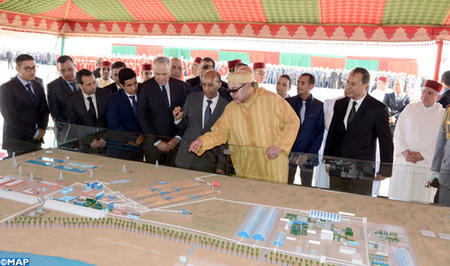HM the King Launches Construction Works of Integrated Industrial Complex of Fertilizer Production in Phosboucraa
