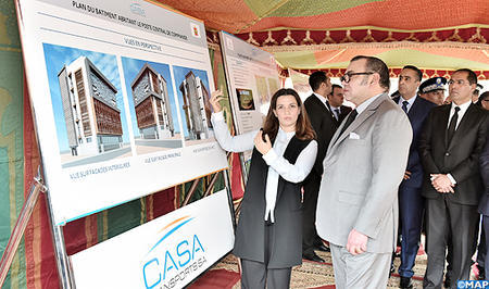 HM the King Launches Smart Video-Surveillance System in Casablanca