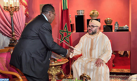 HM the King Receives in Fez Special Envoy of Pres. of Republic of Sudan