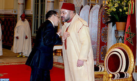 HM the King Receives Saad Eddine El Othmani, Tasks Him with Forming New Govt.