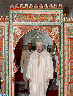 HM the King, Commander of the Faithful, Inaugurates in Fez HRH Princess Lalla Salma Mosque, Performs Friday Prayer