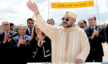 HM the King Launches Building Works of Two Community-Based Medical Centres in Témara and Rabat
