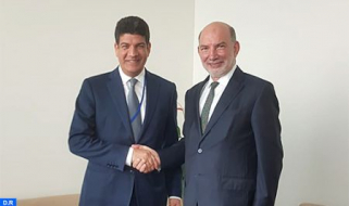 CEO of Masen Meets with UN Special Envoy for Climate Action Summit