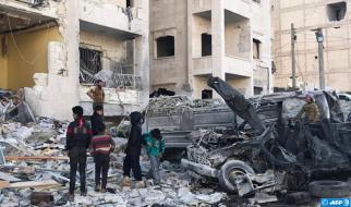 15 Civilians Killed in Syria Strikes: Monitor
