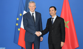 Economy Minister Meets French Peer in Paris