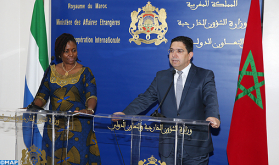 FM Welcomes Continued Solidarity & Fruitful Cooperation between Morocco and Sierra Leone