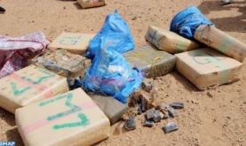 Nearly 2 Tons of Chira Seized at a Stable Northern Morocco