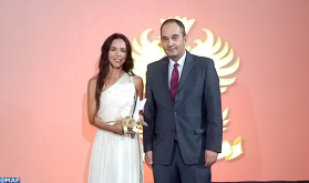 Moroccan Leila Ghandi Wins in Athens 'Who is Who' International Women Leaders Award