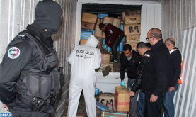 Over 15 T of Cannabis Resin Seized Wednesday in Tangier, Police