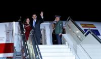 HM King Felipe VI and Queen Letizia Wrap up Visit to Morocco