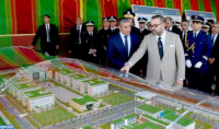 HM the King Launches in Rabat Building Works of New Police Headquarters