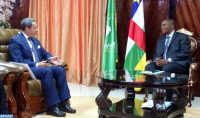 Ambassador Hilale Received in Bangui by Central African President