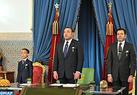 SM el Rey dirige un discurso a la Nación con motivo del 37 aniversario de la gloriosa Marcha Verde