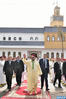 SM el Rey cumple la oración del viernes en la mezquita Al Fadl en Casablanca