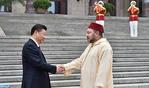 El presidente chino dispensa una acogida oficial a SM el Rey Mohammed VI en Pekín