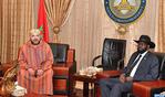 SM el Rey se entrevista a solas con el presidente sursudanés