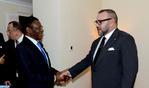 SM el Rey se entrevista a solas con el presidente de Guinea Ecuatorial en Adís Abeba