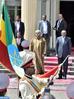 SM el Rey y el primer ministro etíope lanzan el proyecto de una plataforma de producción de abono y presiden la ceremonia de firma de convenios