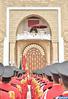 SM el Rey preside en Tetuán la ceremonia de prestación de juramento de los oficiales graduados de las grandes escuelas militares y paramilitares