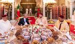 SM el Rey ofrece en Casablanca Iftar oficial en honor del presidente portugués