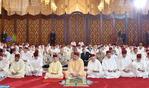 SM el Rey, Amir Al Muminin, cumple la oración del viernes en la Mezquita Hassan II de Casablanca