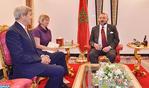 SM el Rey se reúne con el secretario de Estado estadounidense en Marrakech